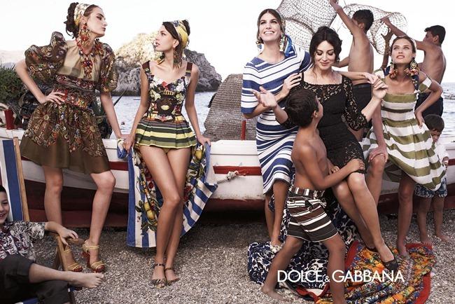 CAMPAIGN- Bianca Balti, Monica Bellucci, Bianca Brandolini D'Adda, Zuzanna Bijoch & kate King for Dolce & Gabbana Spring 2013 by Domenico Dolce. Stefano Gabbana, www.imageamplified.com, Image Amplified (4)