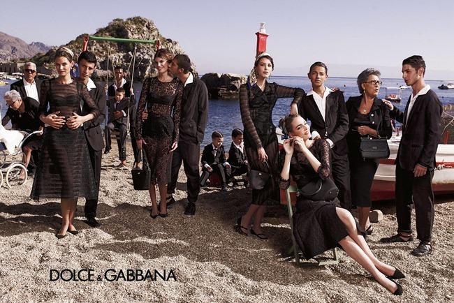 CAMPAIGN- Bianca Balti, Monica Bellucci, Bianca Brandolini D'Adda, Zuzanna Bijoch & kate King for Dolce & Gabbana Spring 2013 by Domenico Dolce. Stefano Gabbana, www.imageamplified.com, Image Amplified (6)
