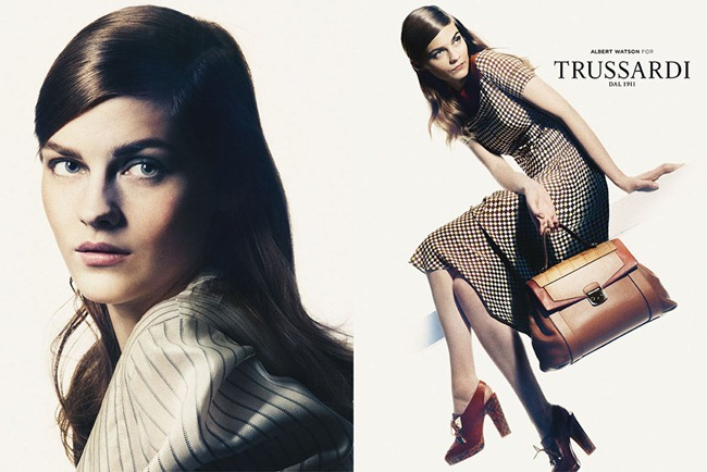 CAMPAIGN- Amber Anderson & Boyd Holbrook for Trussardi Spring 2013 by Albert Watson. www.imageamplified.com, Image Amplified