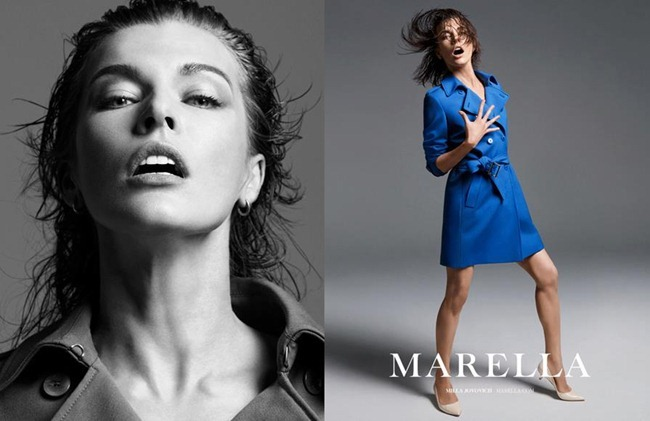 CAMPAIGN- Milla Jovovich for Marella Spring 2013 by Inez & Vinoodh. www.imageamplified.com, Image Amplified (2)