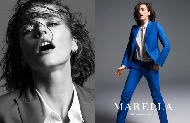 CAMPAIGN- Milla Jovovich for Marella Spring 2013 by Inez & Vinoodh. www.imageamplified.com, Image Amplified (1)