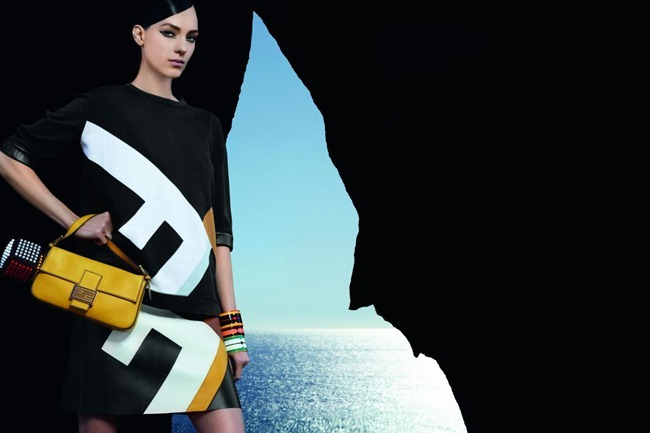 CAMPAIGN- Kati Nescher & Saskia de Brauw for Fendi Spring 2013 by Karl Lagerfeld. www.imageamplified.com, Image Amplified