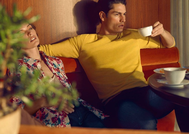 CAMPAIGN- Milla Jovovich & Tyson Ballou for Sisley Spring 2013. www.imageamplified.com, Image Amplified (7)