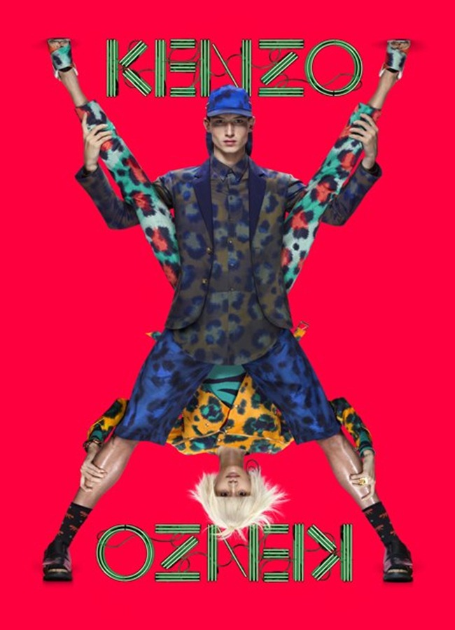 CAMPAIGN- Ming Xi & Jester for Kenzo Spring 2013 by Jean-Paul Goude. www.imageamplified.com, Image Amplified (5)