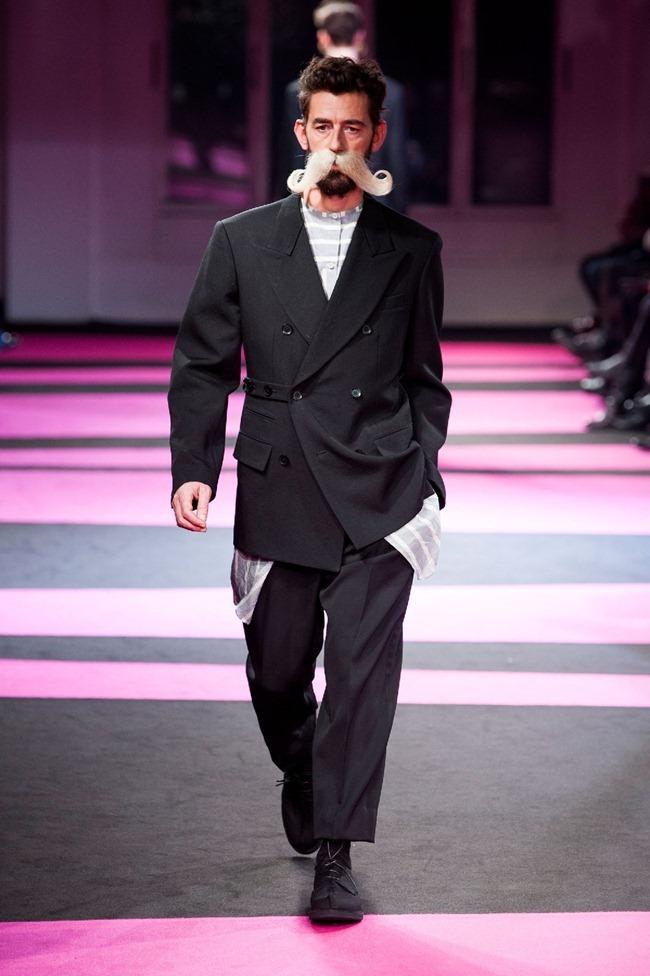 PARIS FASHION WEEK- Yohji Yamamoto Fall 2013. www.imageamplified.com, image Amplified (4)