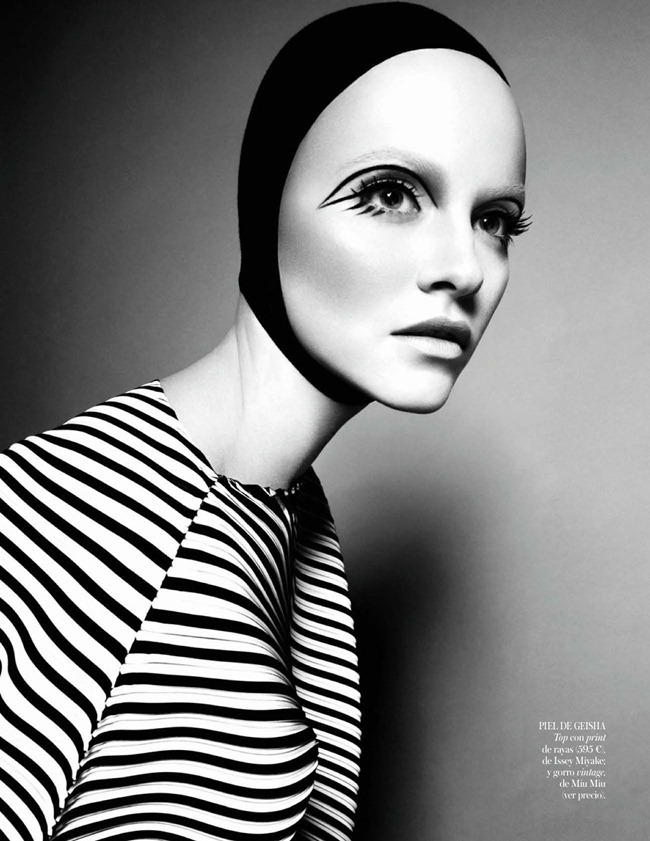 VOGUE SPAIN- Ginta Lapina in Orient Express by Jason Kibbler. Tony Irvine, February 2013, www.imageamplified.com, Image Amplified (6)