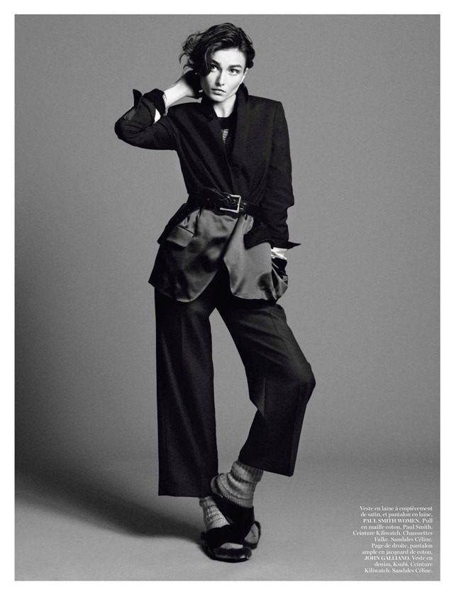 VOGUE PARIS- Andreea Diaconu in New York Partie 3 by David Sims. Emmanuelle Alt, February 2013, www.imageamplified.com, Image Amplified (6)