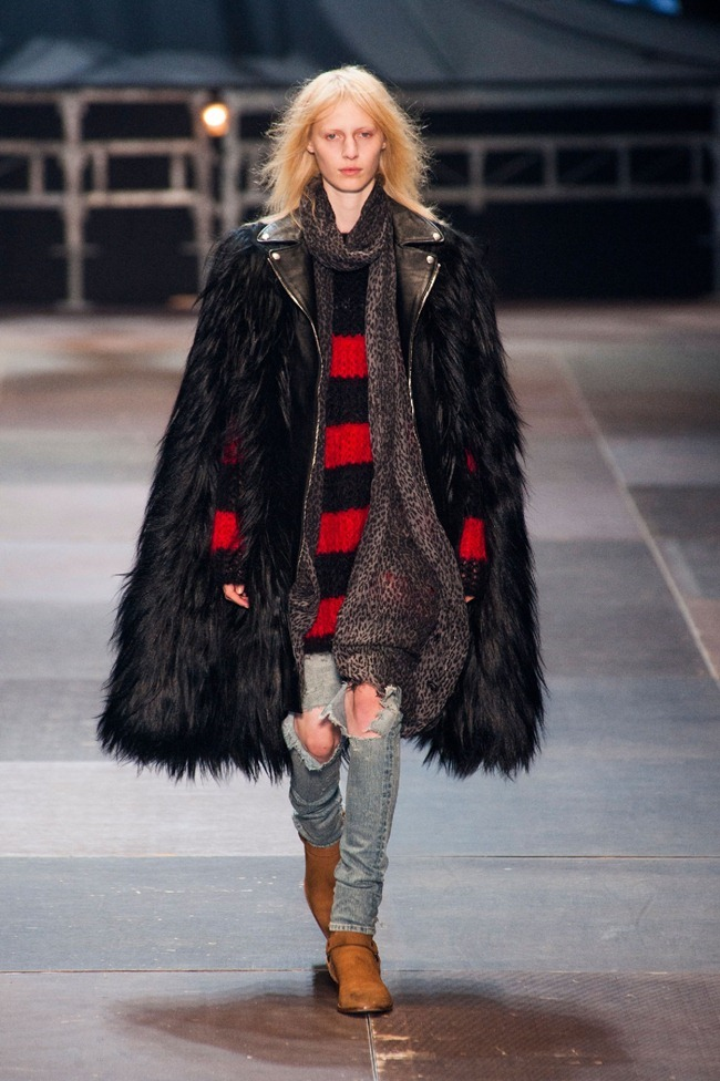 PARIS FASHION WEEK- Saint Laurent Fall 2013. www.imageamplified.com, Image Amplified (4)