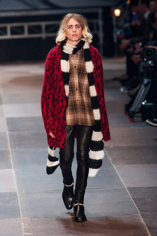 PARIS FASHION WEEK- Saint Laurent Fall 2013. www.imageamplified.com, Image Amplified (8)