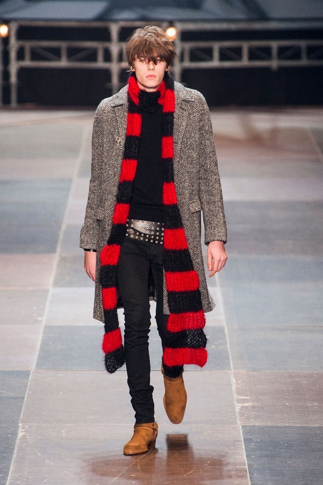 PARIS FASHION WEEK- Saint Laurent Fall 2013. www.imageamplified.com, Image Amplified (14)