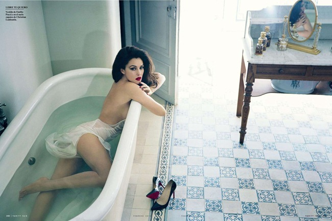 VANITY FAIR SPAIN- Monica Bellucci in Entre Las Mujeres by Mariano Vivanco. February 2013, www.imageamplified.com, Image Amplified (6)