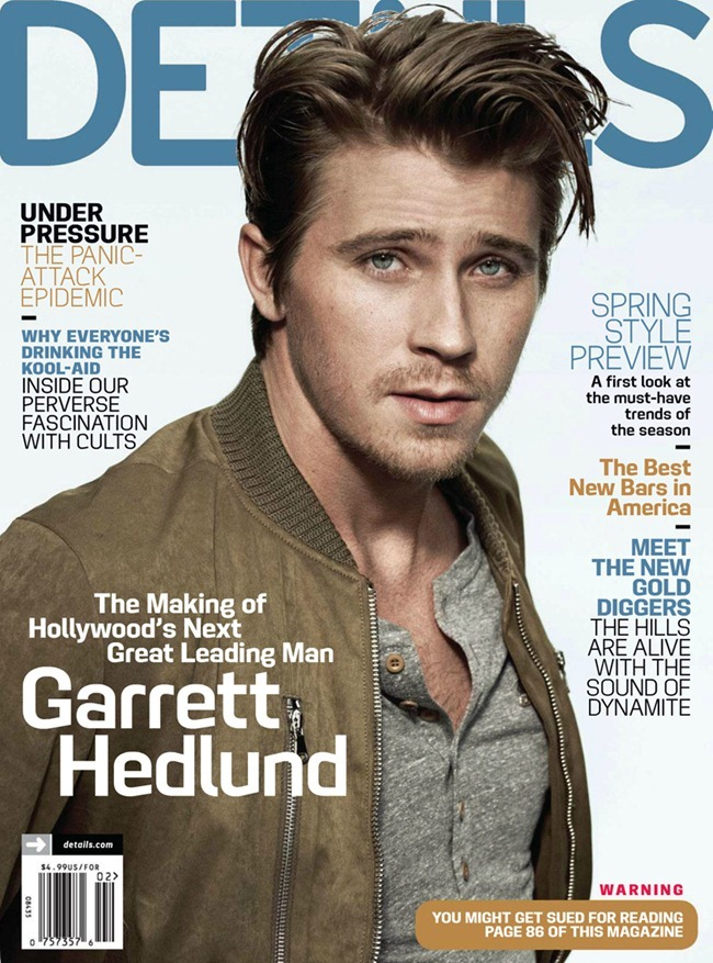 DETAILS MAGAZINE- Garrett hedlund in Road Scholar by Mark Seliger. February 2013, www.imageamplified.com, Image Amplified