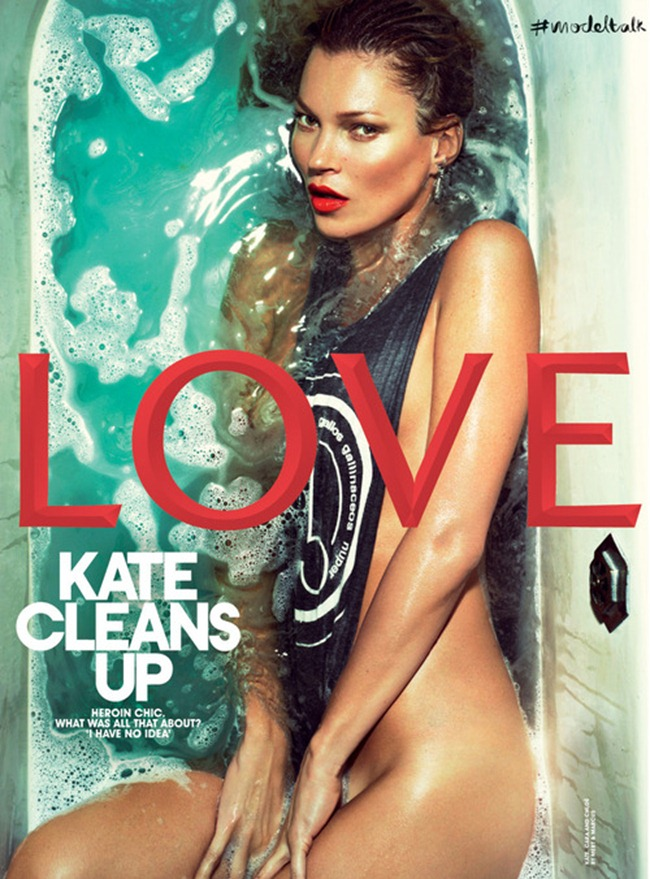 LOVE MAGAZINE- Kate Moss, Cara Delevigne & Chloe Moretz by Mert & Marcus. Katie Grand, Spring 2013, www.imageamplified.com, Image Amplified