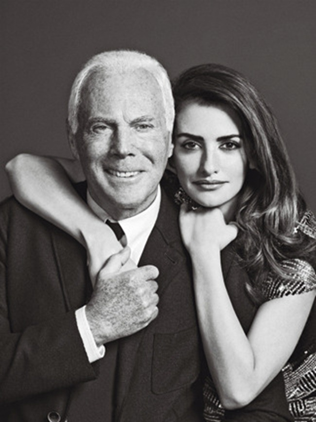 MADAME FIGARO FRANCE- Penelope Cruz & Giorgio Armani by Nico. January 2013, www.imageamplified.com, Image Amplified (1)