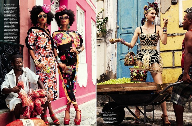 VOGUE BRAZIL- Mirte Maas, Suzane & Suzana in Carmen Miranda Reloaded by Giampaolo Sgura. Anna Dello Russo, February 2013, www.imageamplified.com, Image Amplified (5)