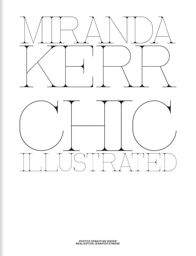 JALOUSE MAGAZINE- Miranda Kerr in Chic Illustrated by Sebastian Mader. Jennifer Eymere, February 2013, www.imageamplified.com, Image Amplified (16)