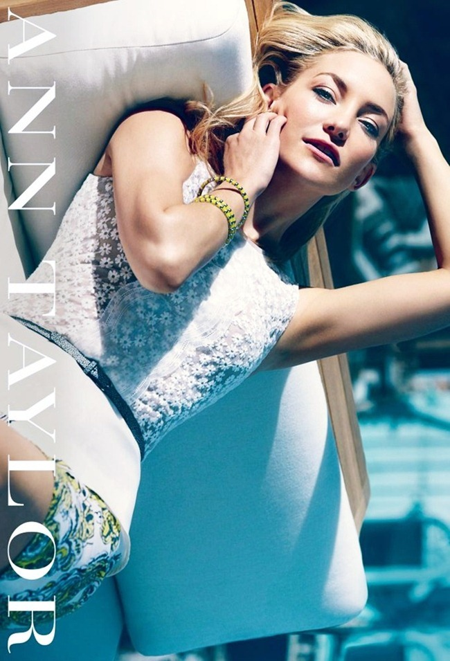 CAMPAIGN- Kate Hudson for Ann Taylor Spring 2013 by Norman Jean Royo. www.imageamplified.com, Image Amplified (1)