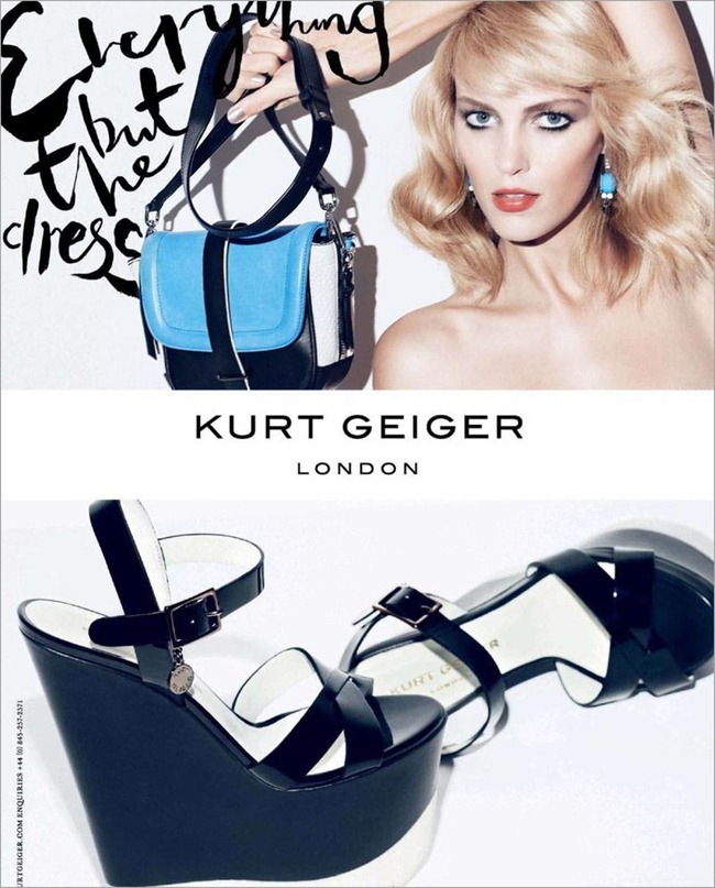 CAMPAIGN- Anja Rubik for Kurt Geiger London Spring 2013 by Sarah Richardson. www.imageamplified.com, Image Amplified (5)