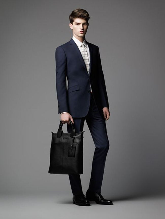 LOOKBOOK- Paolo Anchisi for Burberry Black Label Spring 2013. www.imageamplified.com, Image Amplified (1)