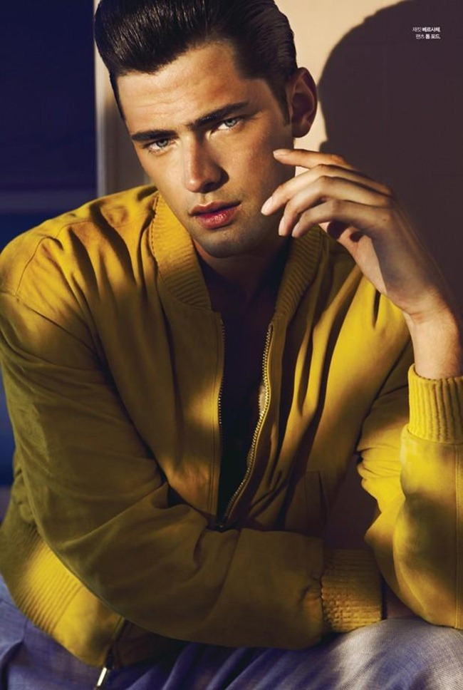 L'OFFICIEL HOMMES KOREA- Sean O'Pry in Color of Spring by Renie Saliba. Katie Burnett, February 2013, www.imageamplified.com, Image Amplified
