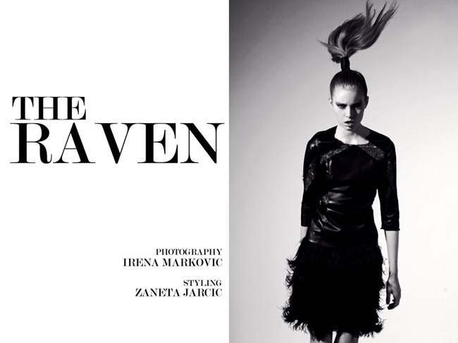 FEATURED PHOTOGRAPHER- The Raven by Irena Markovic. Zaneta Jarcic, www.imageamplified.com, Image Amplified