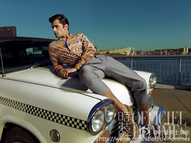 FASHION PHOTOGRAPHY- Sean O'Pry for L'Officiel Hommes China, January 2013, www.imageamplified.com, Image Amplified (3)
