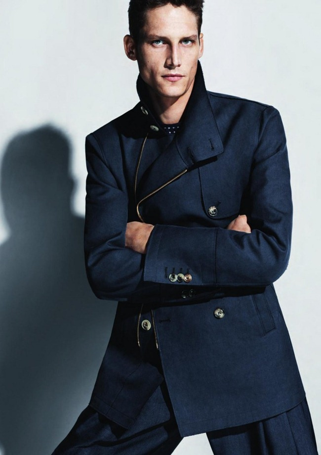 CAMPAIGN- Roch Barbot for Giorgio Armani Menswear Sprign 2013 by Mert & marcus. www.imageamplified.com, Image Amplified