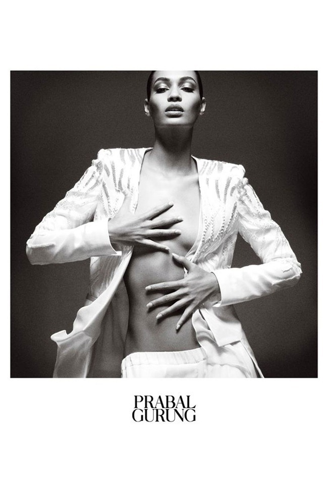 CAMPAIGN- Joan Smalls for Prabal Gurung Spring 2013. www.imageamplified.com, Image Amplified (2)