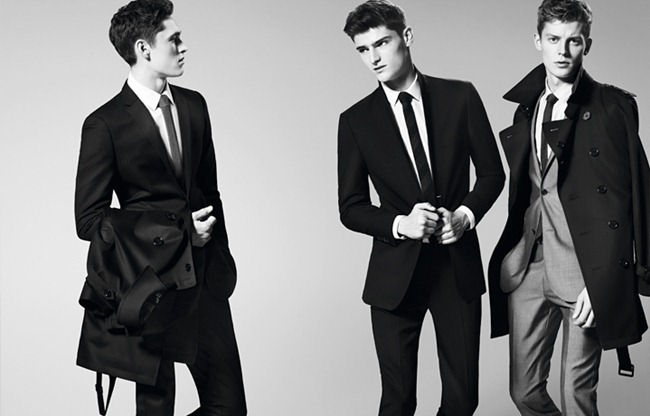 CAMPAIGN- Anders Hayward, Alexander Beck & Janis Ancens for Burberry Black Label Spring 2013. www.imageamplified.com, Image Amplified (5)