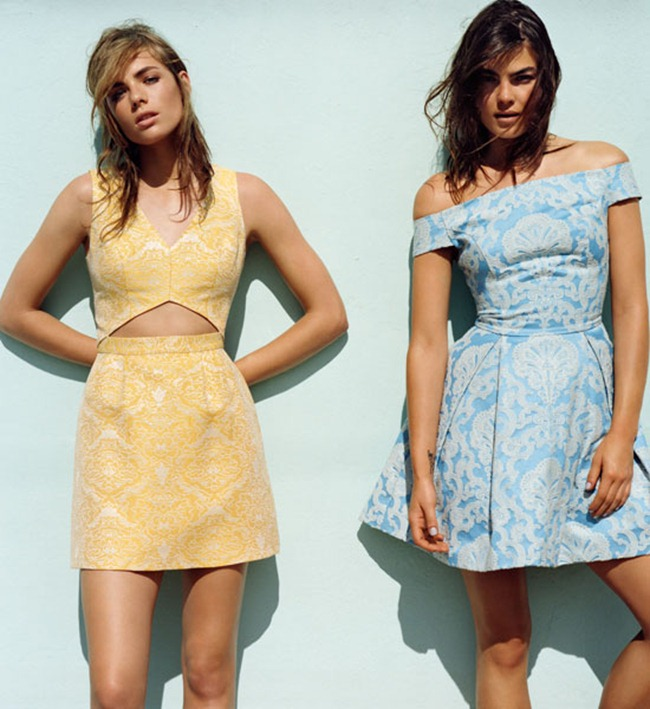 CAMPAIGN- Bambi Northwood-Blyth, Cris Urena, Juliana Schurig, Nimue Smit & Rosie Tapner For Topshop Spring 2013. www.imageamplified.com, Image Amplified (1)