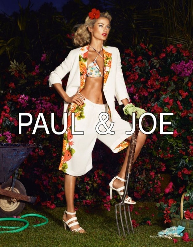 CAMPAIGN- Carolyn Murphy & Shaun DeWet for Paul & Joe Spring 2013 by Mikael Jansson. Karl Templer, www.imageamplified.com, Image Amplified (1)