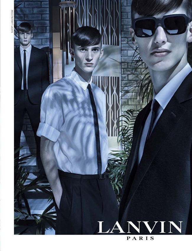 CAMPAIGN- Lanvin Spring 2013 by Steven Meisel. Lucas Ossendrijver, www.imageamplified.com, Image Amplified (3)