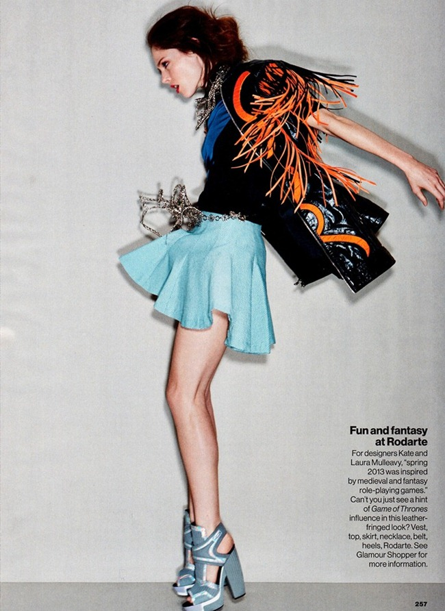 GLAMOUR MAGAZINE- Coco Rocha in Trends With Benefits by Patrick Demarchelier. Anne Christensen, March 2013, www.imageamplified.com, Image Amplified (5)