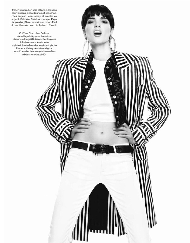 BE MAGAZINE- Hanaa Ben Abdesslem in Minimale Androgyne by Nelson Simoneau. Isabelle Peyrut, March 2013, www.imageamplified.com, Image Amplified (9)