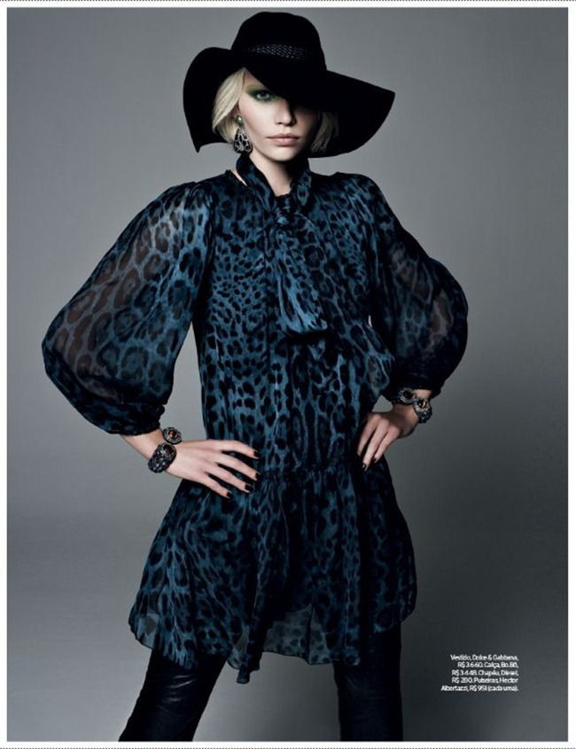 ELLE BRAZIL- Aline Weber in Gipsy Queen by Bob Wolfenson. Suana Barbosa, February 2013, www.imageamplified.com, IMage Amplified (1)