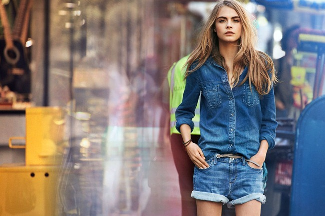 CAMPAIGN- Cara Delevigne & Baptiste Mayeux for DKNY Jeans Spring 2013 by Patrick Demarchelier. www.imageamplified.com, Image Amplified (6)