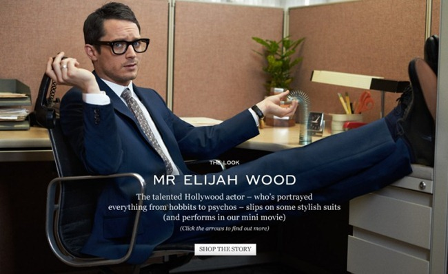 CAMPAIGN- Elijah Wood for Mr Porter by Blair Getz Meizibov. Gaelle Paul, www.imageamplified.com, Image Amplified
