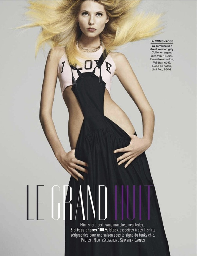 GLAMOUR FRANCE- Vika Falileeva in Le Grand Huit by Nico. Sebastien Cambos, March 2013, www.imageamplified.com, Image Amplified