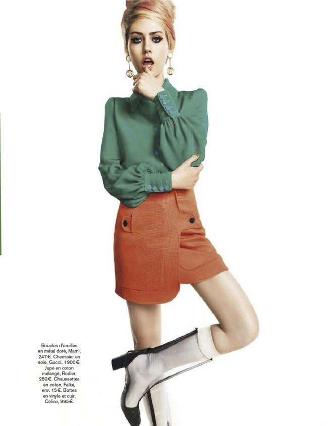 GLAMOUR FRANCE- Charlotte Free in Twist and Shout by Nico. Sebastien Cambos, March 2013, www.imageamplified.com, Image Amplified (2)