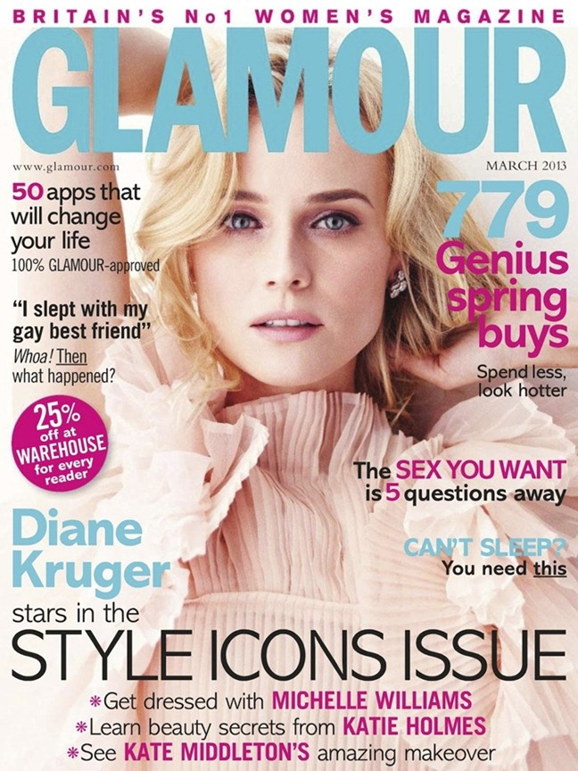 GLAMOUR UK- Diane Kruger in What Would Diane Do by Simon Emmett. Charlotte-Anne Fidler, March 2013, www.imageamplified.com, Image Amplified (11)