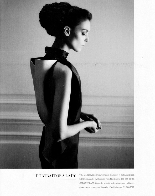 HARPER'S BAZAAR MAGAZINE- Kati Nescher in Glorious by Karl Lagerfeld. Andrew Richardson, March 2013, www.imageamplified.com, Image Amplified (2)