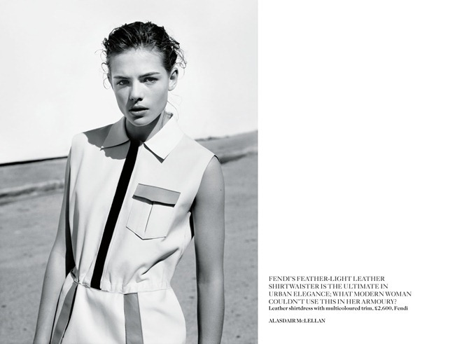 VOGUE UK- Rosie Tapner in In Glorious Mono by Alasdair Mclellan. Francesca Burns, March 2013, www.imageamplified.com, Image Amplified (4)