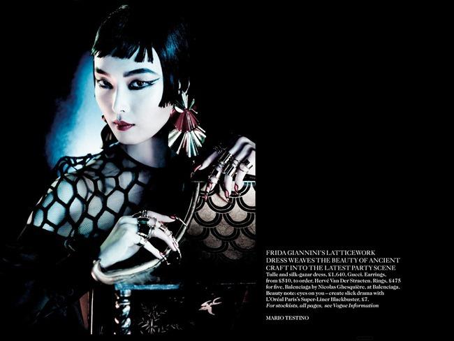 VOGUE UK- Sui He, Sung Hee Kim, Ji Hye Park & Fei Fei Sun in Orient Express by Mario Testino. Lucinda Chambers, March 2013, www.imageamplified.com, Image Amplified (11)