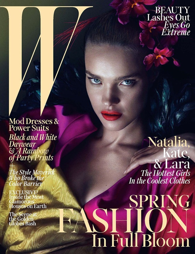 W MAGAZINE- Kate Moss, Lara Stone & Natalia Vodianova by Mert & Marcus. Edward Enninful, March 2013, www.imageamplified.com, Image Amplified