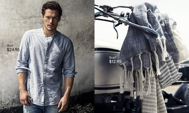 CAMPAIGN- Sam Webb in A Touch of Blue for H&M Spring 2013. www.imageamplified.com, Image Amplified (4)