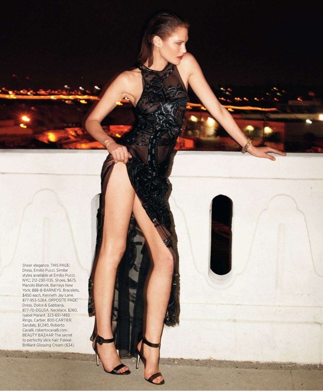HARPER'S BAZAAR MAGAZINE- Catherine McNeil in Black Brings Sexy Back by Terry Richardson. Clare Richardson, March 2013, www.imageamplified.com, Image Amplified (5)