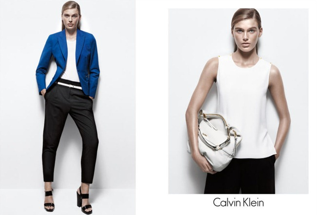 CAMPAIGN- Madison Headrick & Shaun DeWet for Calvin Klein White Label Spring 2013 by Daniel Jackson. www.imageamplified.com, Image Amplified
