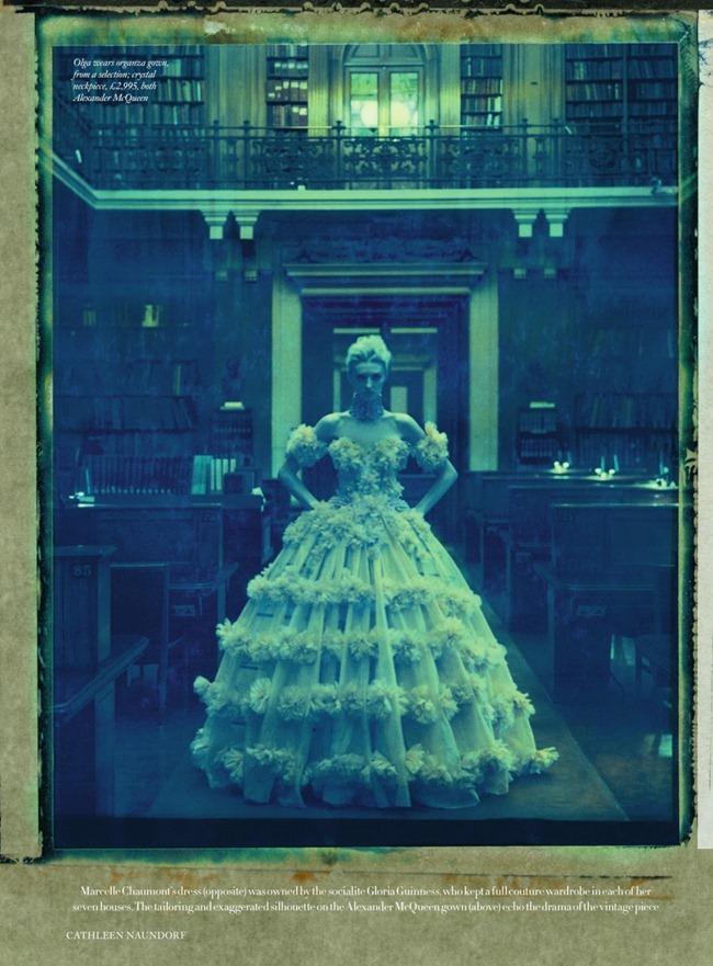 HARPER'S BAZAAR UK- Olga Sherer in Teh Line of Beauty by Cathleen Naundorf. Hannah Teare, March 2013, www.imageamplified.com, Image Amplified (3)