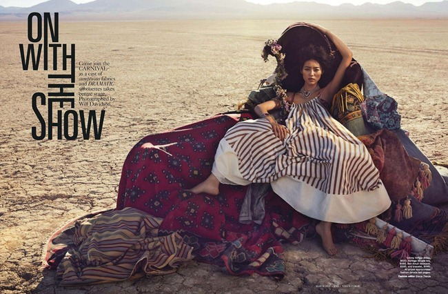 VOGUE AUSTRALIA- Liu Wen in On With the Show by Will Davidson. Stevie Dance, March 2013, www.imageamplified.com, Image Amplified (6)