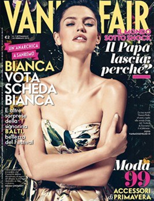 VANITY FAIR ITALIA- Bianca Balti by Vanmossevelde   N. February 2013, www.imageamplified.com, Image Amplified (6)
